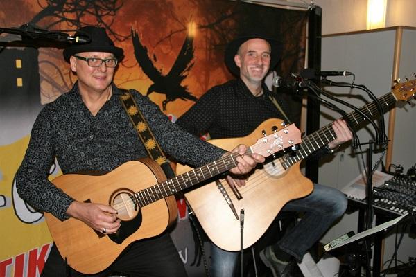 Fränkische Musik - Musik-Duo Aufgebasst
