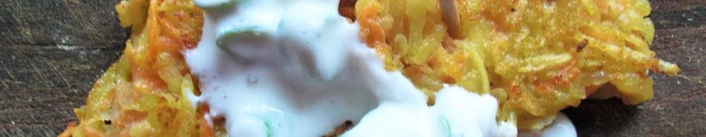 Foto fränkischer Kartoffelpuffer