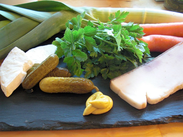 Zutaten für fränkische Rouladen