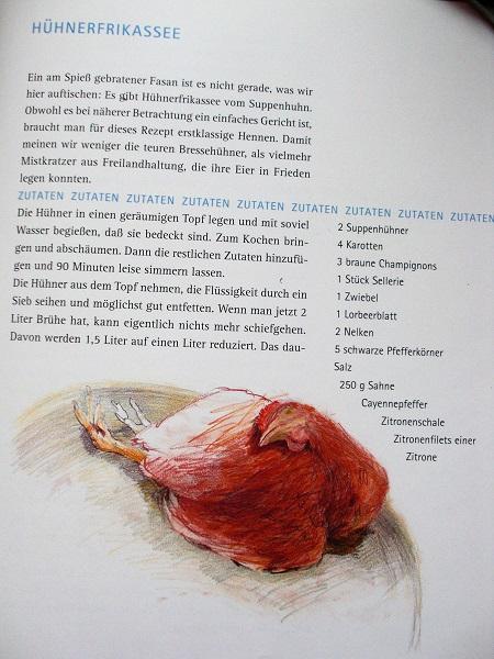 Hühnerfrikassee Rezept a la Gebrüder Lange