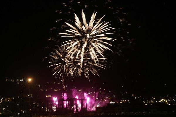 Foto Feuerwerk am Sylvesterabend