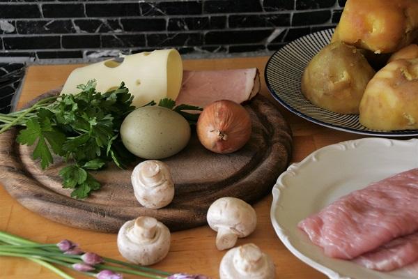 Zutaten für Prager Schnitzel