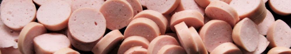 Wiener Würstchen in Scheiben