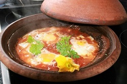 Tomatensoße mit Ei