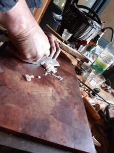 Handgeschmiedete Messer aus Haag